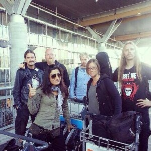 On our way to Wacken Open Air